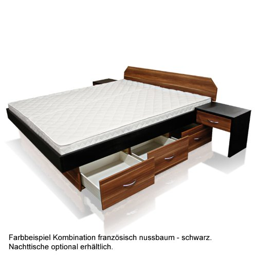 bellvita mesamoll ii wasserbett in boxspring optik. Black Bedroom Furniture Sets. Home Design Ideas