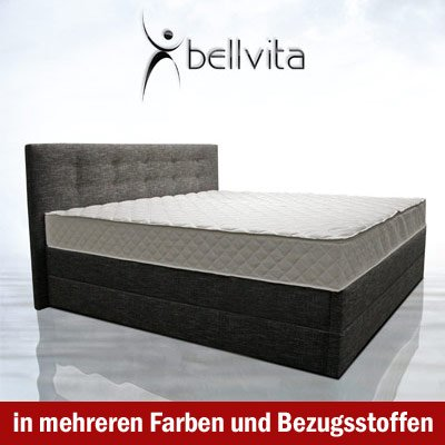 Bellvita Mesamoll II Wasserbett in Boxspring-Optik